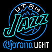 Corona Light Logo Utah Jazz NBA Beer Sign Neon Sign