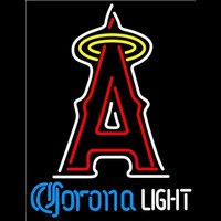 Corona Light Los Angeles Angels of Anaheim MLB Beer Sign Neon Sign