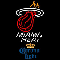 Corona Light Miami Heat NBA Beer Sign Neon Sign