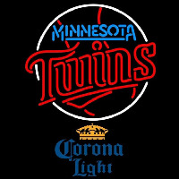 Corona Light Minnesota Twins MLB Beer Sign Neon Sign