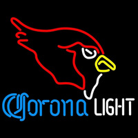Corona Light Neon Arizona Cardinals NFL Neon Sign Neon Sign