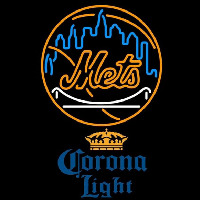Corona Light New York Mets MLB Beer Sign Neon Sign