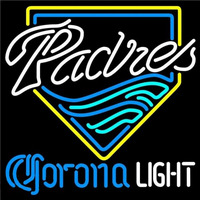 Corona Light San Diego Padres MLB Beer Sign Neon Sign