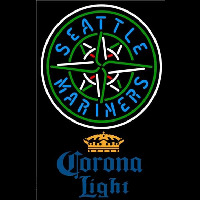 Corona Light Seattle Mariners MLB Beer Sign Neon Sign