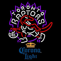 Corona Light Toronto Raptors NBA Beer Sign Neon Sign