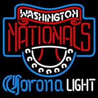 Corona Light Washington Nationals MLB Beer Sign Neon Sign