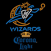 Corona Light Washington Wizards NBA Beer Sign Neon Sign