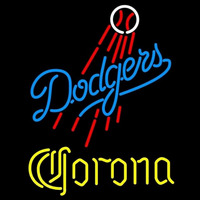 Corona Los Angeles Dodgers MLB Beer Sign Neon Sign