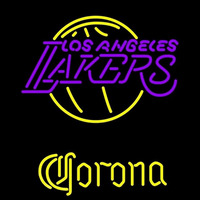 Corona Los Angeles Lakers NBA Beer Sign Neon Sign