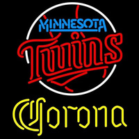 Corona Minnesota Twins MLB Beer Sign Neon Sign
