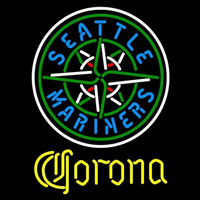 Corona Seattle Mariners MLB Beer Sign Neon Sign