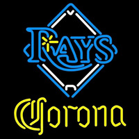 Corona Tampa Bay Rays MLB Beer Sign Neon Sign