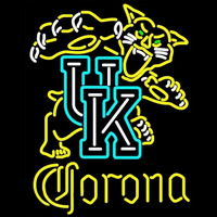 Corona UK Kentucky Wildcats Logo NCAA Beer Sign Neon Sign