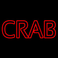 Crab Block Neon Sign