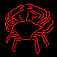 Crab Block With Logo 1 Neon Sign