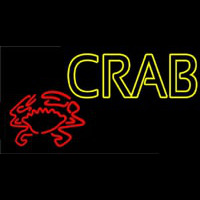 Crab With Logo 1 Neon Sign