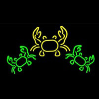 Crabs Logo 1 Neon Sign