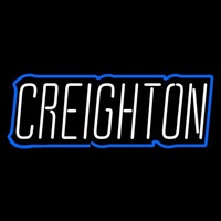 Creighton Bluejays Wordmark 2013 Pres Logo NCAA Neon Sign Neon Sign
