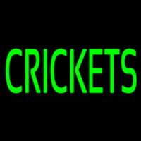 Crickets Neon Sign