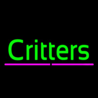 Critters Neon Sign