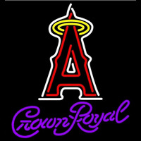 Crown Royal Anaheim Angels MLB Beer Sign Neon Sign