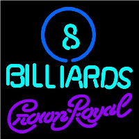 Crown Royal Ball Billiards Pool Beer Sign Neon Sign