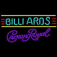 Crown Royal Billiards Te t Borders Pool Beer Sign Neon Sign