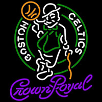 Crown Royal Boston Celtics NBA Beer Sign Neon Sign