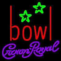 Crown Royal Bowling Alley Beer Sign Neon Sign