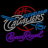 Crown Royal Cleveland Cavaliers NBA Beer Sign Neon Sign