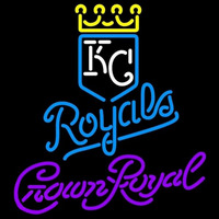 Crown Royal Kansas City Royals MLB Beer Sign Neon Sign