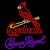 Crown Royal St Louis Cardinals MLB Beer Sign Neon Sign