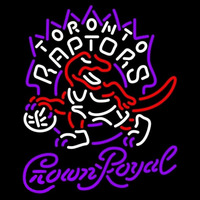 Crown Royal Toronto Raptors NBA Beer Sign Neon Sign