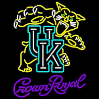 Crown Royal Uk Kentucky Wildcats Logo University Beer Sign Neon Sign