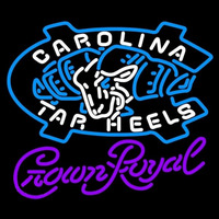 Crown Royal Unc North Carolina Tar Heels MLB Beer Sign Neon Sign