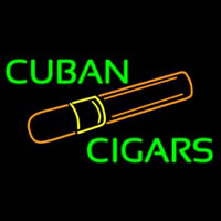 Cuban Cigars Neon Sign