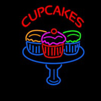 Cup Cakes Neon Sign