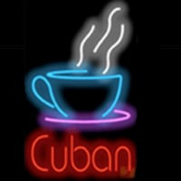 Cup Cuban Neon Sign