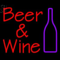 Custom Beer And Wine Bottle Neon Sign