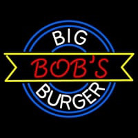 Custom Big Bobs Burger  Neon Sign