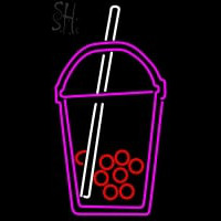 Custom Boba Tea Symbol 1 Neon Sign