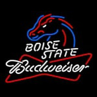 Custom Boise State Budweiser Neon Sign 1 Neon Sign