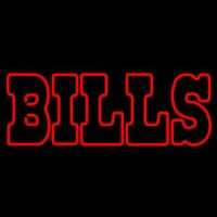 Custom Buffalo Bills  Wordmark Logo Neon Sign Neon Sign