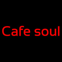 Custom Cafe Soul 2 Neon Sign