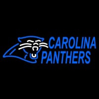 Custom Carolina Panthers  Wordmark Logo Neon Sign Neon Sign