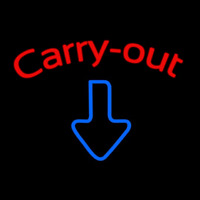 Custom Carry Out 1 Neon Sign