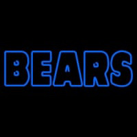 Custom Chicago Bears  Wordmark Logo Neon Sign Neon Sign