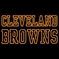 Custom Cleveland Browns  Wordmark Logo Neon Sign Neon Sign