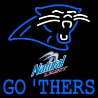 Custom Go Thers Carolina Panthers Nfl Neon Sign Neon Sign