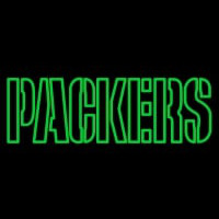 Custom Green Bay Packers  Wordmark Logo Neon Sign Neon Sign
